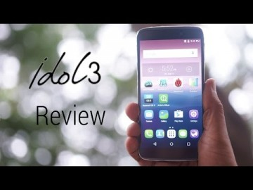 Alcatel One Touch Idol 3 Review!